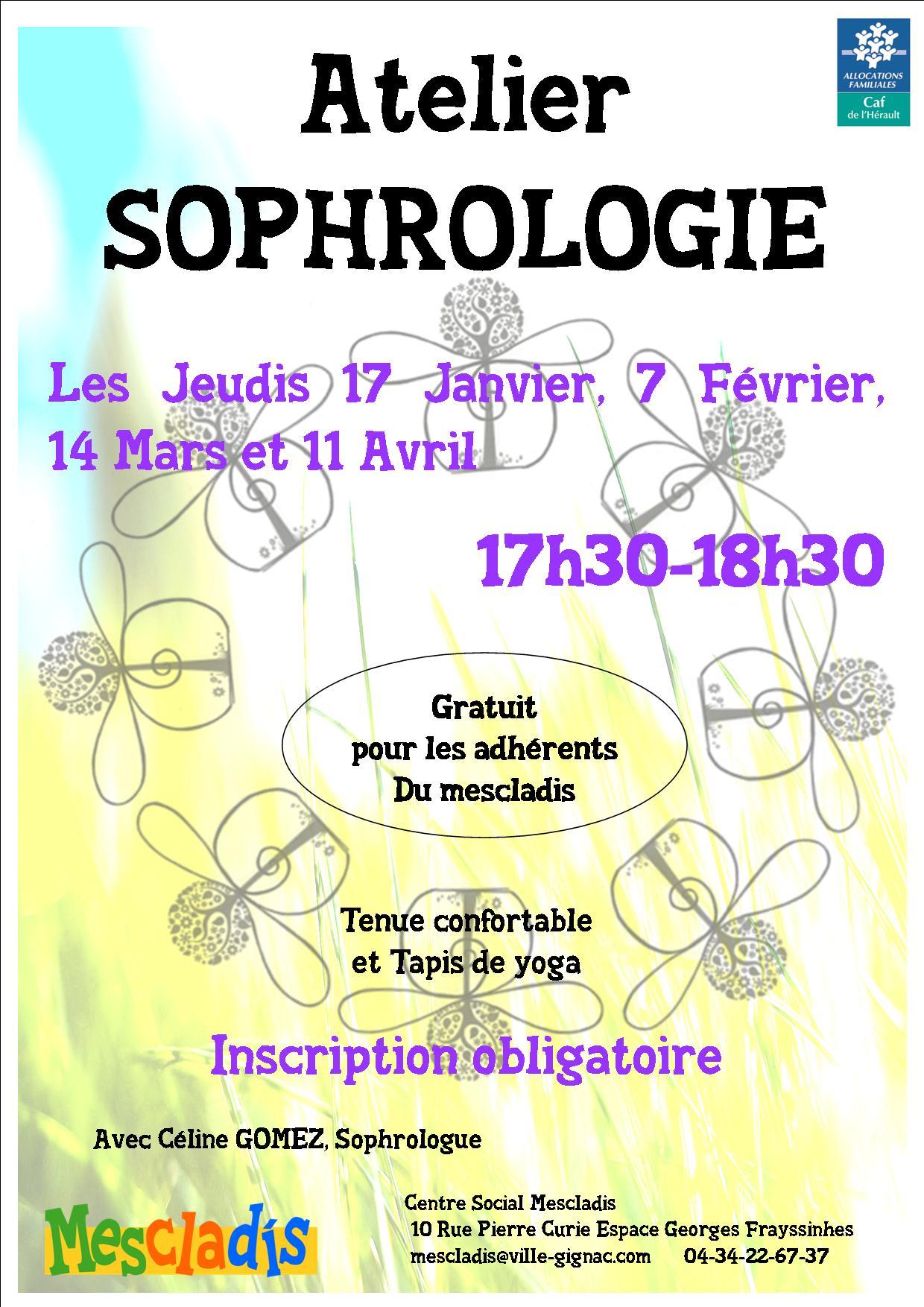 Sophrologie Janvier