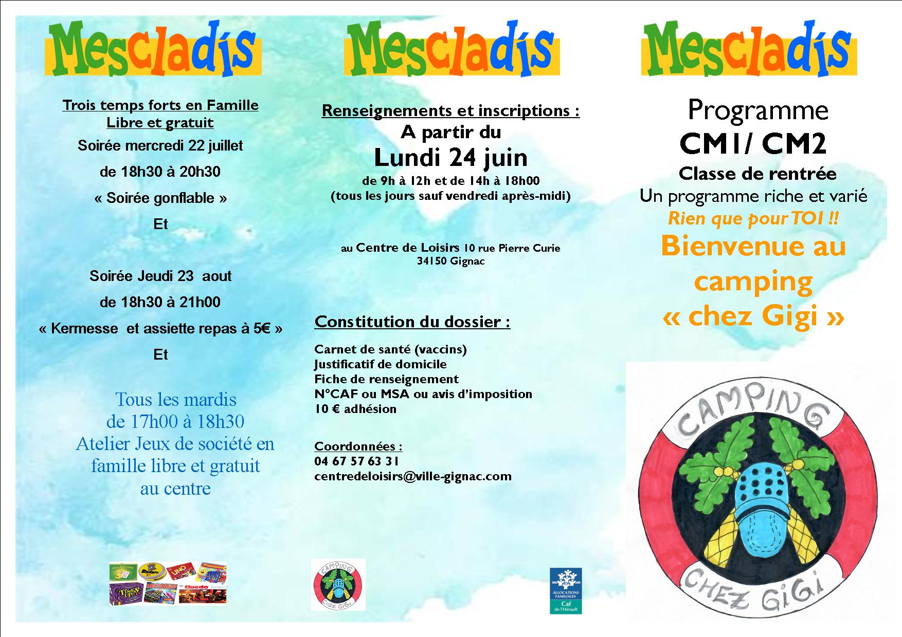 programme cm1/cm2